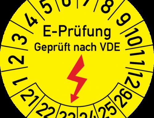 VDE-Prüfung elektrischer Geräte nach DIN VDE 0701-0702